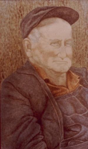 Grandpa Thomas - 9 x 15 - $25.