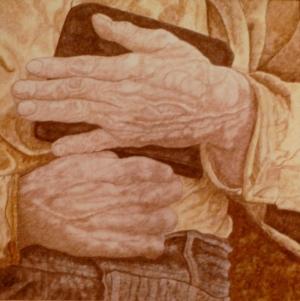 Hands - 9 x 9 - $25.